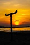 Ηλιοβασίλεμα στο σύννεφο στοκ εικόνες με δικαίωμα ελεύθερης χρήσης