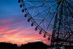 ηλιοβασίλεμα στο Τόκιο Στοκ Εικόνες
