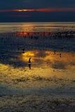 ηλιοβασίλεμα Ταϊλάνδη Στοκ Εικόνα