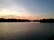 ηλιοβασίλεμα Ταϊλάνδη Στοκ φωτογραφίες με δικαίωμα ελεύθερης χρήσης
