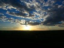 Ηλιοβασίλεμα της Αριζόνα Στοκ Φωτογραφίες