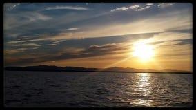 Ηλιοβασίλεμα της Γιούτα Στοκ εικόνα με δικαίωμα ελεύθερης χρήσης
