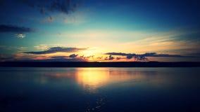 Ηλιοβασίλεμα της ημέρας στοκ εικόνες με δικαίωμα ελεύθερης χρήσης