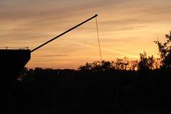 Ηλιοβασίλεμα της Ιταλίας Στοκ Φωτογραφίες