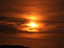 Ηλιοβασίλεμα της Μανίλα Στοκ εικόνες με δικαίωμα ελεύθερης χρήσης