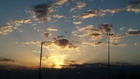 Ηλιοβασίλεμα της Οκλαχόμα Στοκ φωτογραφίες με δικαίωμα ελεύθερης χρήσης