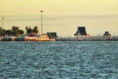 Ηλιοβασίλεμα της παραλίας Στοκ Φωτογραφίες