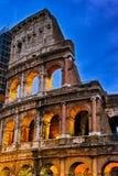 Ηλιοβασίλεμα της Ρώμης Colosseum Στοκ εικόνα με δικαίωμα ελεύθερης χρήσης