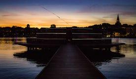 ηλιοβασίλεμα της Στοκχ Στοκ εικόνα με δικαίωμα ελεύθερης χρήσης