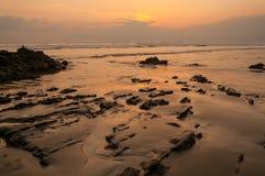 Ηλιοβασίλεμα της Τερέζα Santa Στοκ Εικόνες