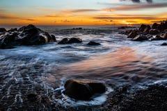 Ηλιοβασίλεμα της Φορμόζας στοκ εικόνες