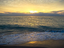 Ηλιοβασίλεμα της Φλώριδας Στοκ Εικόνα