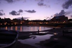 Ηλιοβασίλεμα του Κασκάις Στοκ εικόνες με δικαίωμα ελεύθερης χρήσης