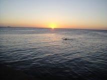ηλιοβασίλεμα του Κου&rh Στοκ εικόνες με δικαίωμα ελεύθερης χρήσης