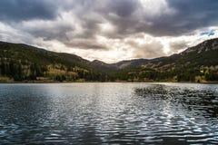 Ηλιοβασίλεμα του Κολοράντο λιμνών της Isabel στοκ εικόνες με δικαίωμα ελεύθερης χρήσης