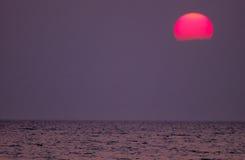 Ηλιοβασίλεμα του Μίτσιγκαν λιμνών στοκ φωτογραφία με δικαίωμα ελεύθερης χρήσης