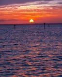 Ηλιοβασίλεμα του Destin Στοκ εικόνες με δικαίωμα ελεύθερης χρήσης