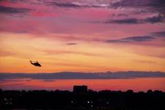 Ηλιοβασίλεμα του Hudson Στοκ φωτογραφίες με δικαίωμα ελεύθερης χρήσης