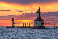 Ηλιοβασίλεμα του ST Joseph στοκ φωτογραφία με δικαίωμα ελεύθερης χρήσης