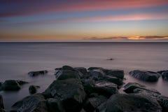 Ηλιοβασίλεμα υδρονέφωσης Στοκ εικόνες με δικαίωμα ελεύθερης χρήσης