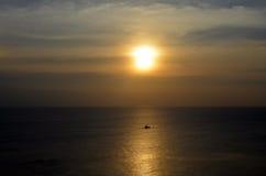 Ηλιοβασίλεμα χαλκού Στοκ Φωτογραφία