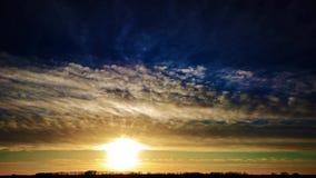 Ηλιοβασίλεμα χρονικού σφάλματος φιλμ μικρού μήκους