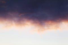 Ηλιοβασίλεμα χρώματος κρητιδογραφιών Στοκ εικόνες με δικαίωμα ελεύθερης χρήσης