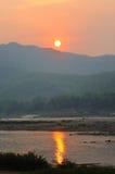 Ηλιοβασίλεμα. Στοκ εικόνες με δικαίωμα ελεύθερης χρήσης