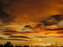 Ηλιοβασίλεμα 001 Στοκ φωτογραφίες με δικαίωμα ελεύθερης χρήσης