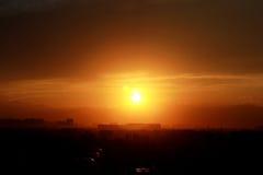 Ηλιοβασίλεμα-1 Στοκ Φωτογραφίες