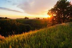 Ηλιοβασίλεμα στοκ φωτογραφία με δικαίωμα ελεύθερης χρήσης