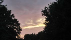 Ηλιοβασίλεμα στοκ εικόνα με δικαίωμα ελεύθερης χρήσης