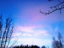 Ηλιοβασίλεμα Στοκ Φωτογραφίες