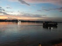 Ηλιοβασίλεμα Στοκ φωτογραφίες με δικαίωμα ελεύθερης χρήσης