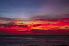 Ηλιοβασίλεμα Aruban Στοκ Φωτογραφίες