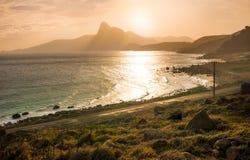 Ηλιοβασίλεμα Bai nhat στην παραλία, νησί Condao - Βιετνάμ Στοκ φωτογραφία με δικαίωμα ελεύθερης χρήσης