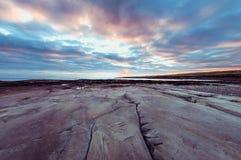 Ηλιοβασίλεμα Clahane Στοκ Εικόνες