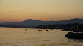 Ηλιοβασίλεμα Colorfull Στοκ Εικόνα
