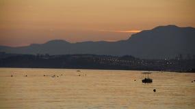 Ηλιοβασίλεμα Colorfull Στοκ Εικόνες