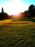 Ηλιοβασίλεμα Hill Στοκ Εικόνες
