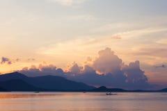 Ηλιοβασίλεμα koh στο samui στοκ φωτογραφία με δικαίωμα ελεύθερης χρήσης