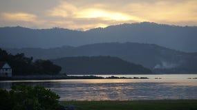 Ηλιοβασίλεμα Koh Samui, Ταϊλάνδη Στοκ φωτογραφία με δικαίωμα ελεύθερης χρήσης