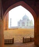 Taj Mahal, Ινδία στοκ φωτογραφίες με δικαίωμα ελεύθερης χρήσης