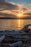 Ηλιοβασίλεμα 3 Pacific Northwest στοκ φωτογραφίες