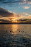 Ηλιοβασίλεμα 6 Pacific Northwest στοκ φωτογραφίες με δικαίωμα ελεύθερης χρήσης