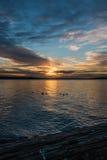 Ηλιοβασίλεμα 7 Pacific Northwest στοκ φωτογραφίες