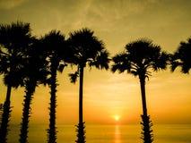 Ηλιοβασίλεμα Phuket Στοκ φωτογραφία με δικαίωμα ελεύθερης χρήσης