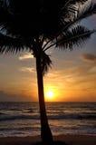 Ηλιοβασίλεμα Phuket Στοκ Φωτογραφία