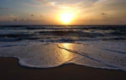 Ηλιοβασίλεμα Phuket Στοκ Εικόνα