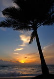 Ηλιοβασίλεμα Phuket Στοκ Εικόνες